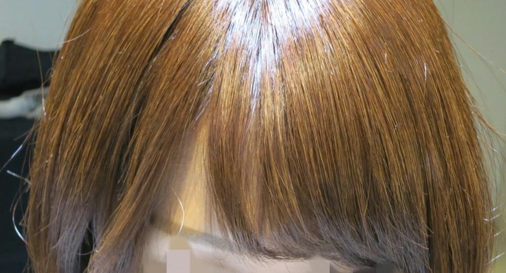 [ぱっくり]前髪が分かれ無くする対処法、の1つ