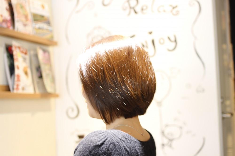 [白髪染めは明るく出来ない?]からのご提aaaaaaaN!