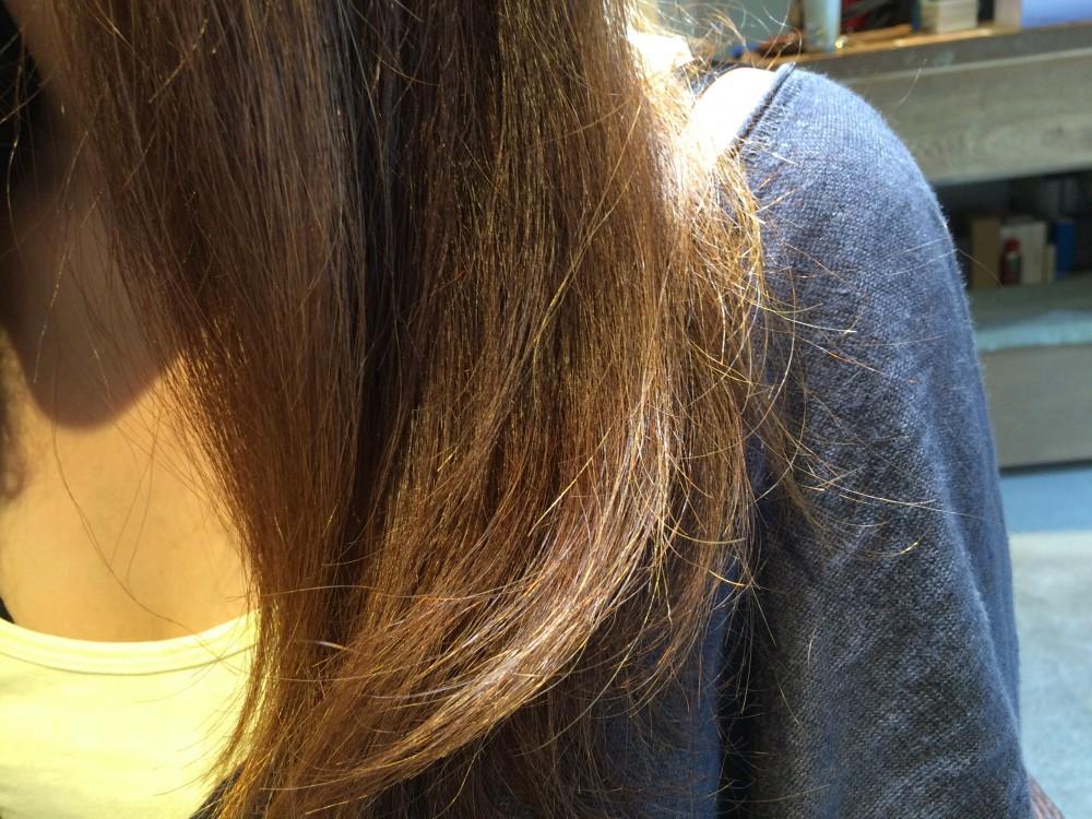 【縮毛矯正】なかなか伸びにくい方への自然なストレート