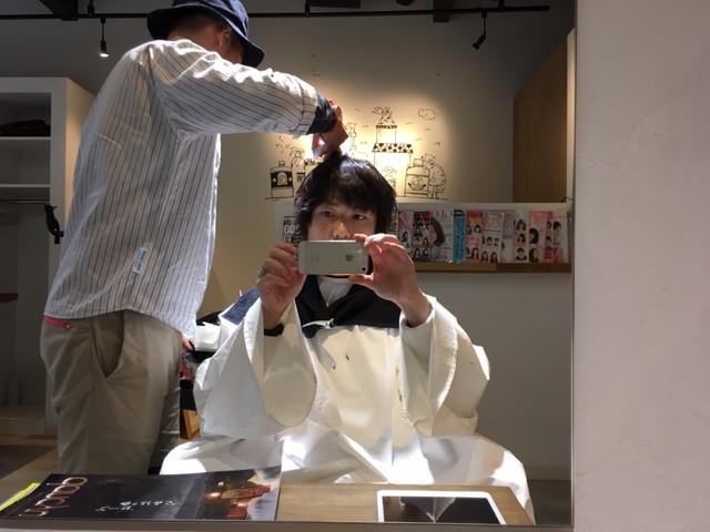 【メンズパーマ】やっぱりスタイリングが1番楽!!