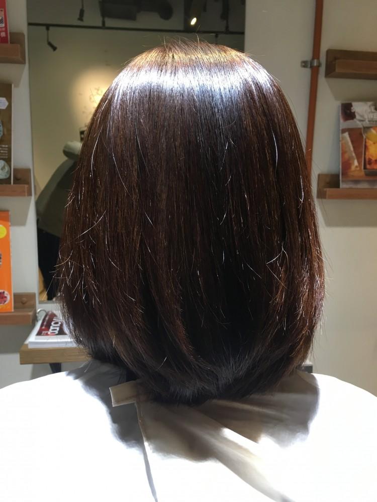 縮毛矯正、ストレートパーマ、髪質改善