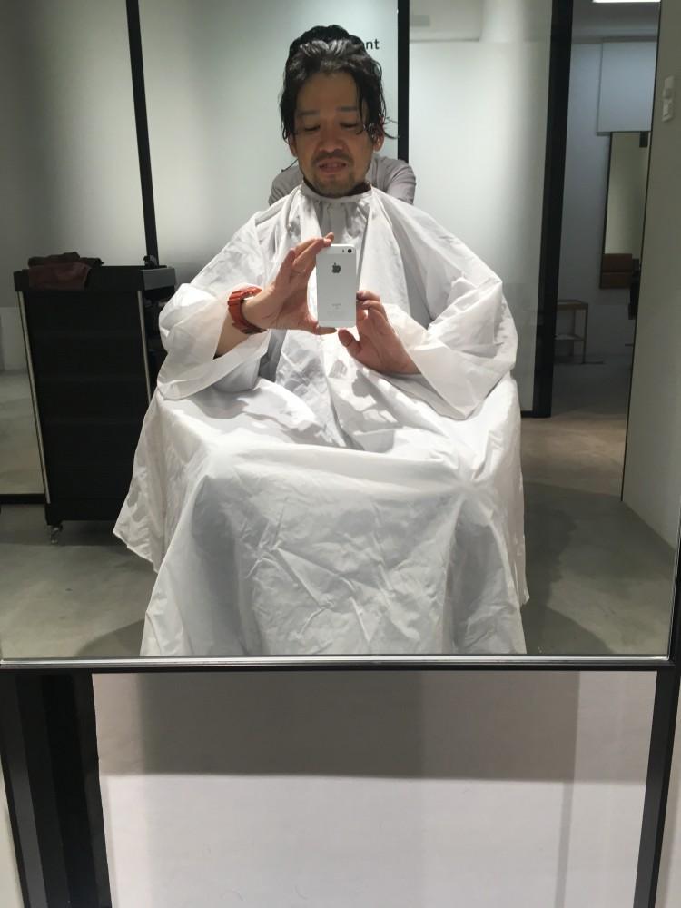 またまた髪を切ってきました inおしゃれな街 原宿
