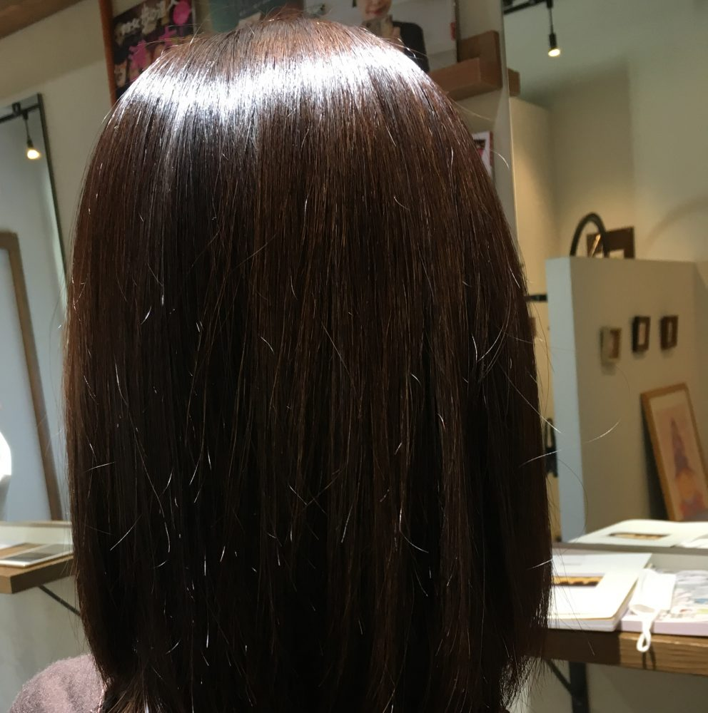 髪質は変わらないけど髪の状態は劇的に変わります!!