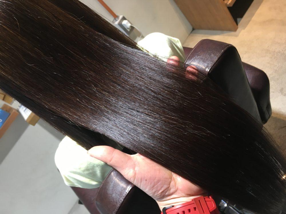 髪が綺麗ということが重要だとわかるくらい綺麗な髪に